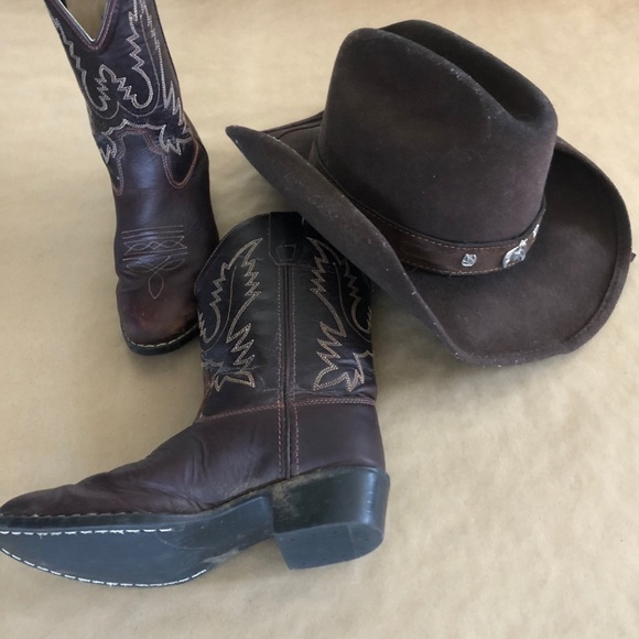 Boys Old West Cowboy Boots